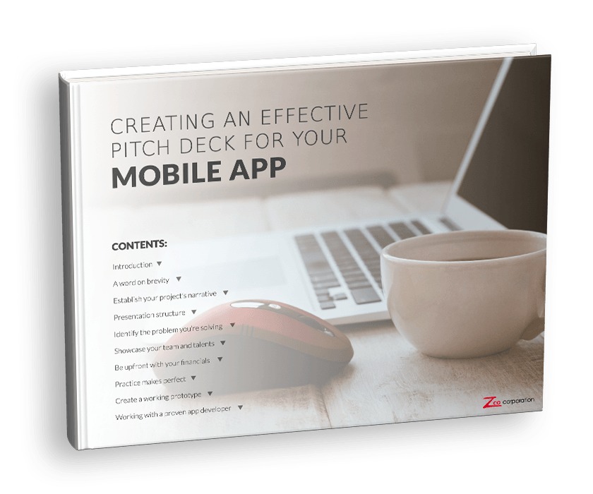 Creating an effective pitch deck for your mobile app eBook