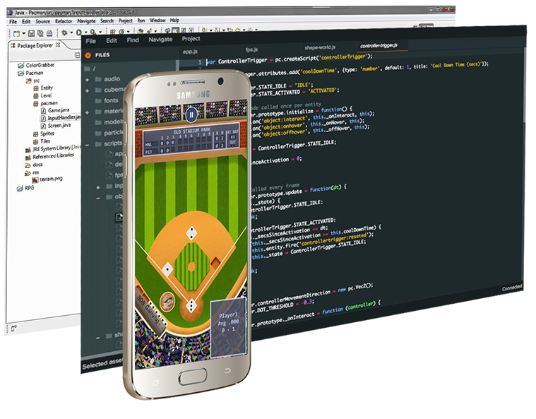 HTML5 and JavaScript source code for html5 game development