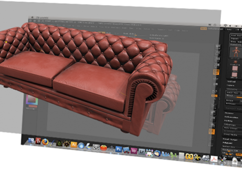 Zco specialize in creating 3D sofa models demo for animation