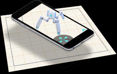 AR app development demo from Zco, the leading ar development company