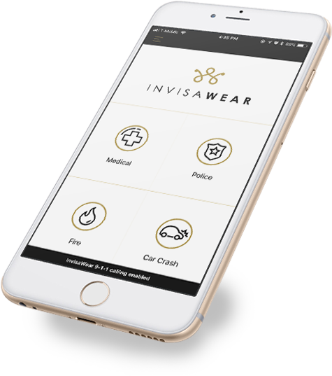 invisaWear is an attractive and smart wearable jewelry app developed by Zco - Boston customer