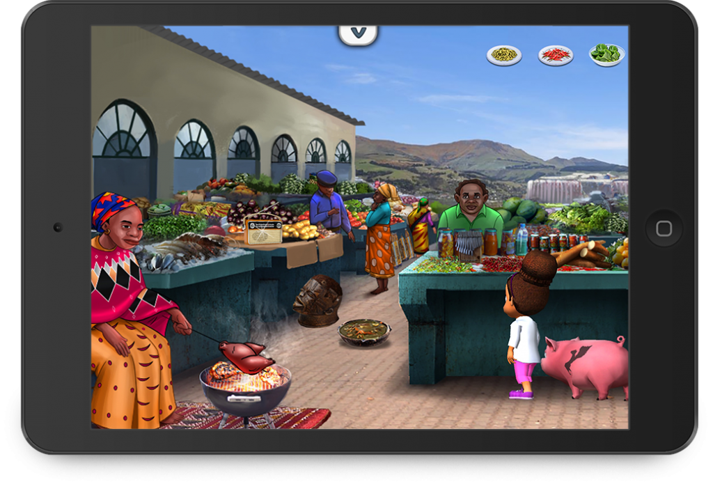 Issa's Edible Adventures - Children's Cooking Games - Educational app developed by Zco
