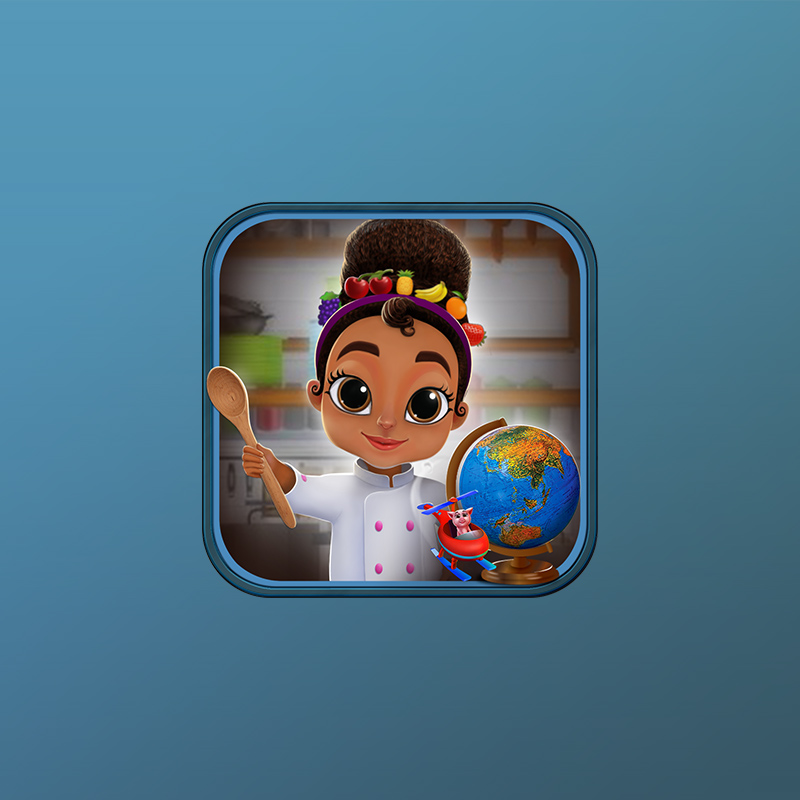 Issa's Edible Adventures iOS app for Kids developed by Zco is a top game developers in the world
