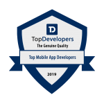 Best Mobile App Maker in 2019 by Topdevelopers.co