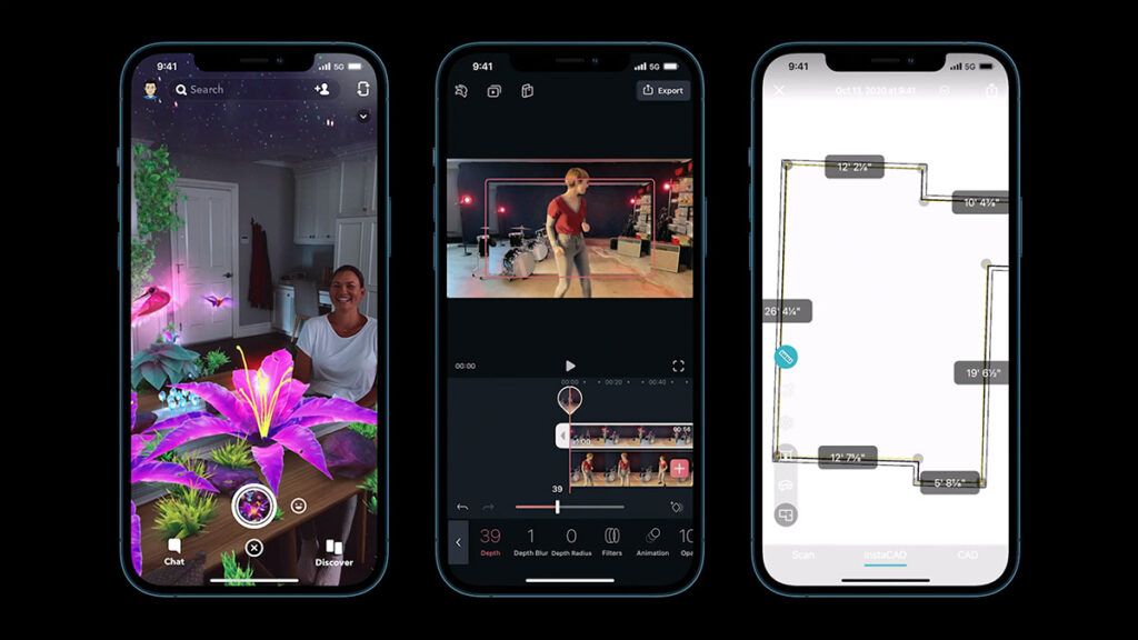 New iPhone 12 LiDAR sensor to bring new Augmented Reality applications to the forefront
