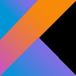 Logo for Kotlin programming