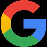 The logo for Google