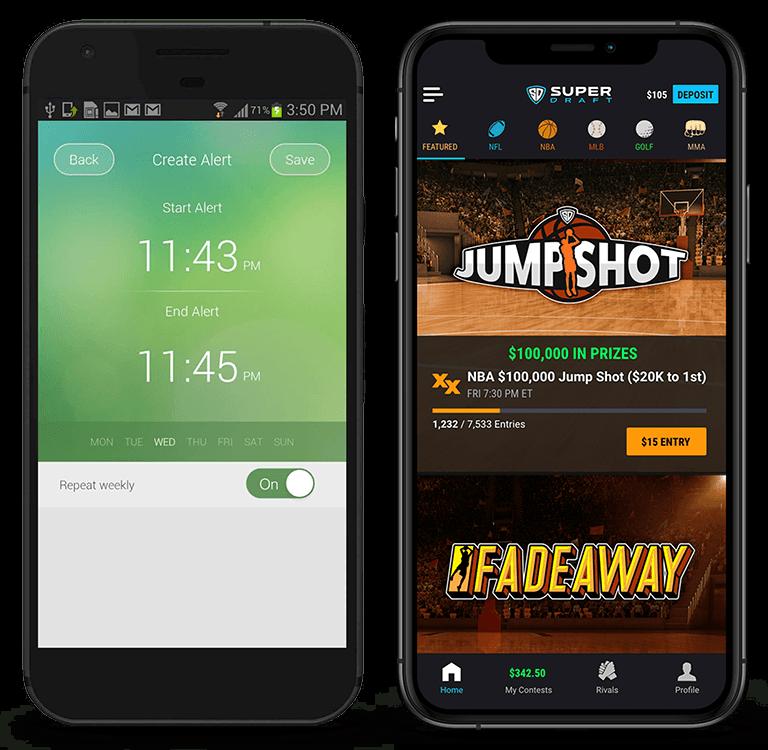 Comparison of a simple app vs a complex app