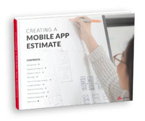 Cover for the Creating a Mobile App Estimate eBook