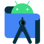 The logo for Android Studio