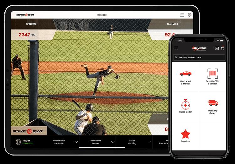 Stalker Sports Radar and eKeystone Apps